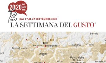 Settimana del Gusto anche in Ticino dal 17 al 27 settembre